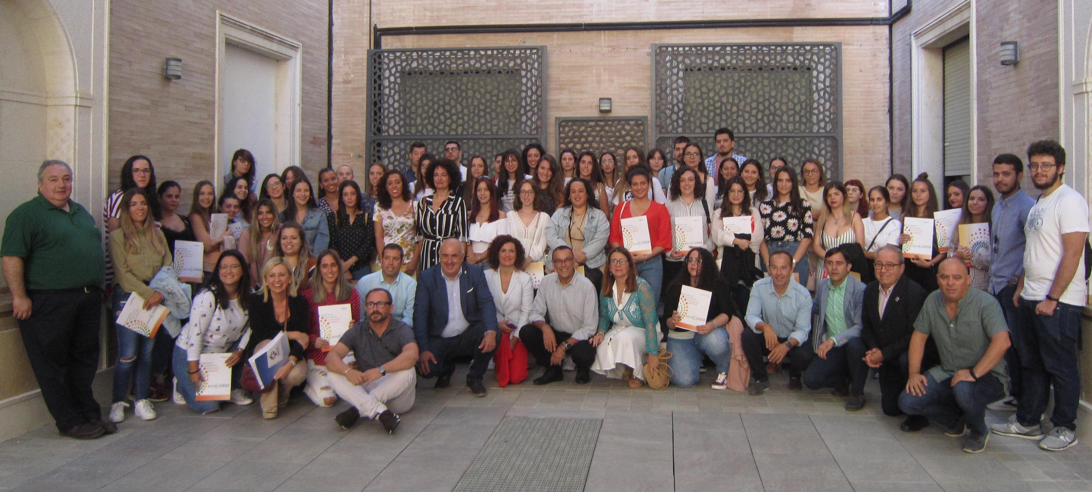 Nueve jóvenes de la Sierra de Aracena y Picos de Aroche se beneficiarán de las becas HEBE, Primera Oportunidad, en su quinta edición 2019