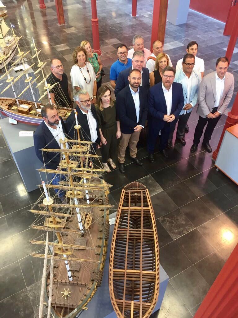 El Consejero de Agricultura, Pesca y Desarrollo Rural se reúne con las presidencias y gerencias de los GDR de Huelva.