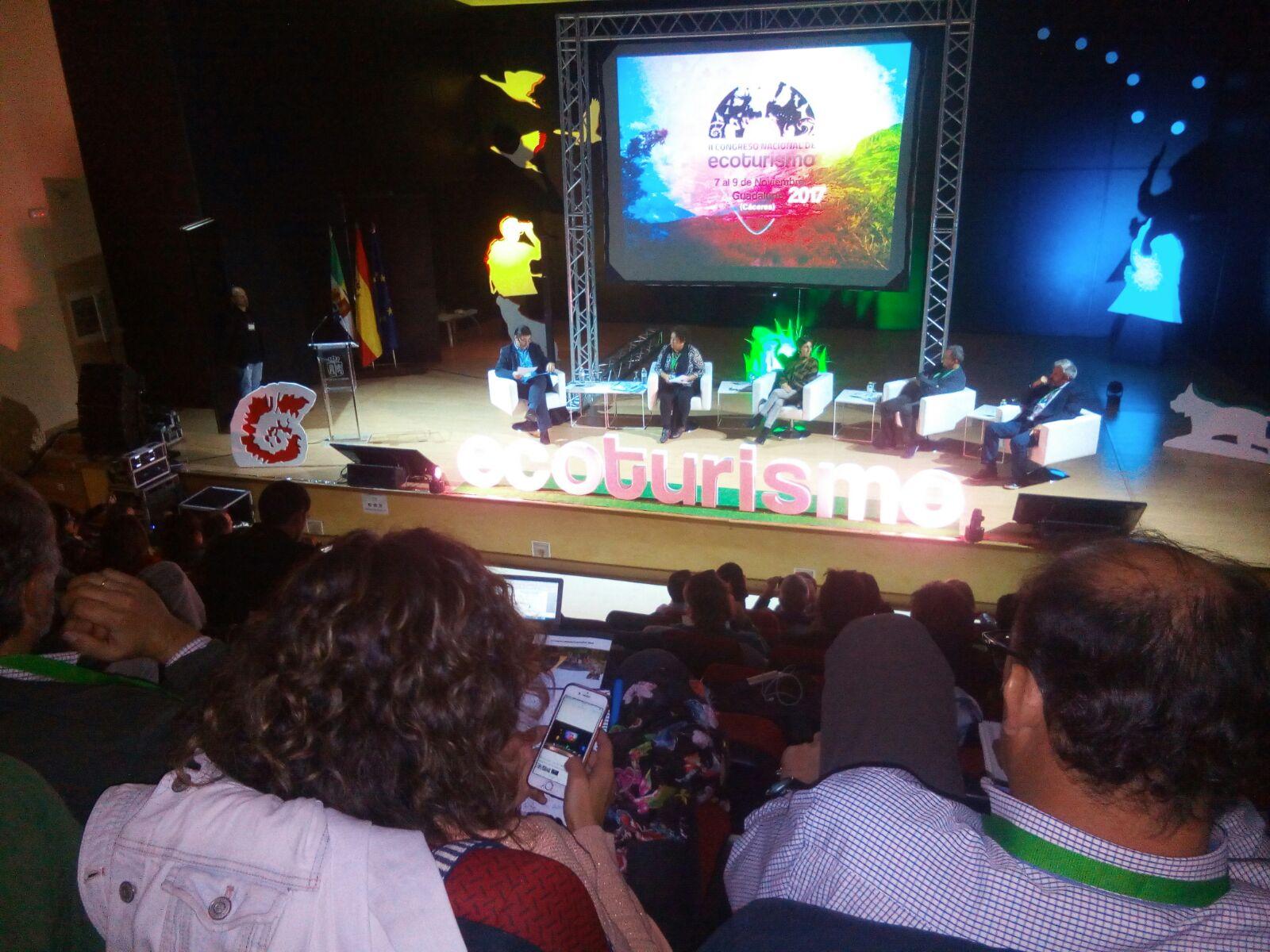 El GDR SIERRA DE ARACENA Y PICOS DE AROCHE PARTICIPA EN EL II CONGRESO NACIONAL DE ECOTURISMO