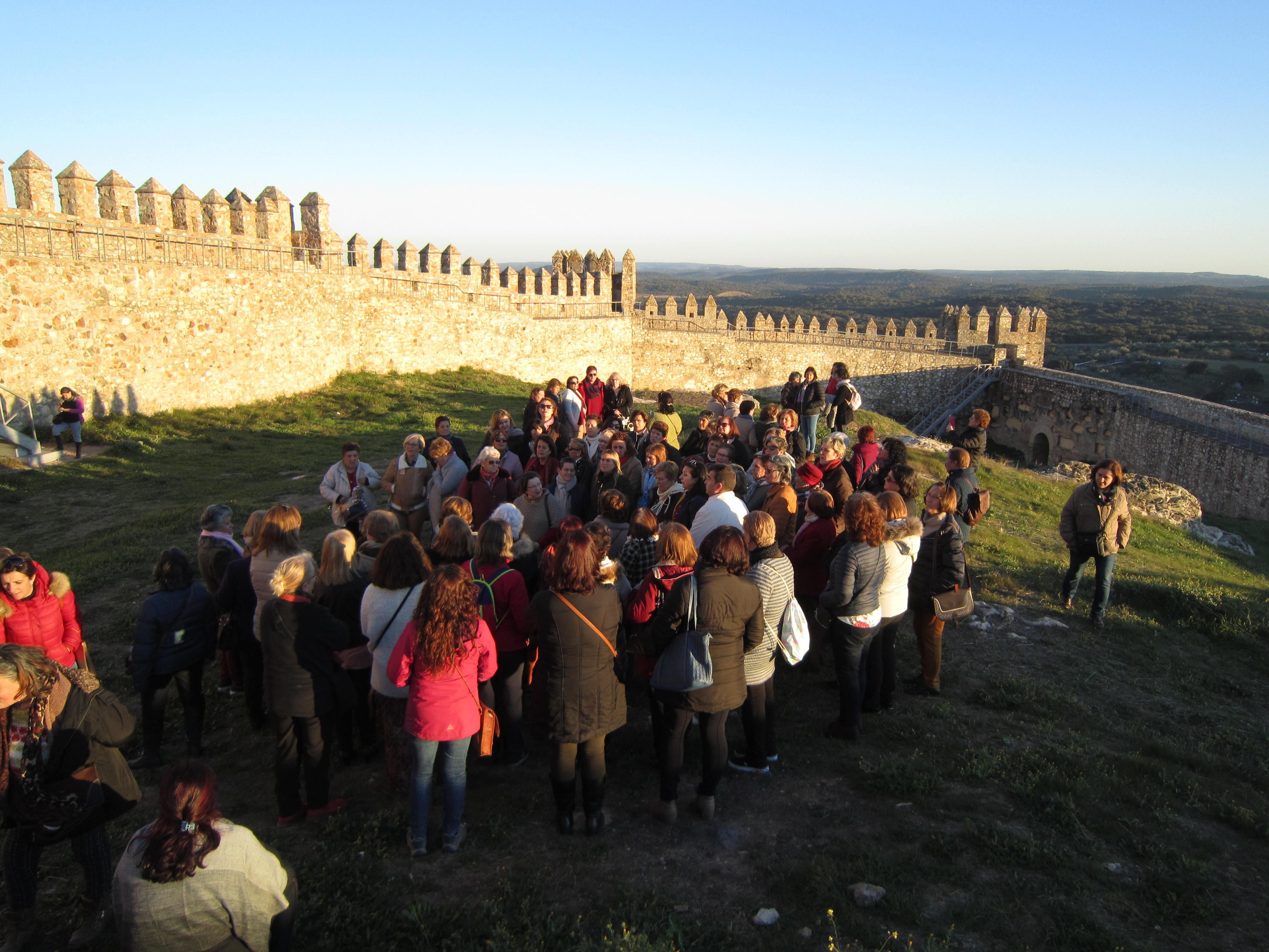 Las mujeres de la Sierra de Aracena y Picos de Aroche descubren su patrimonio