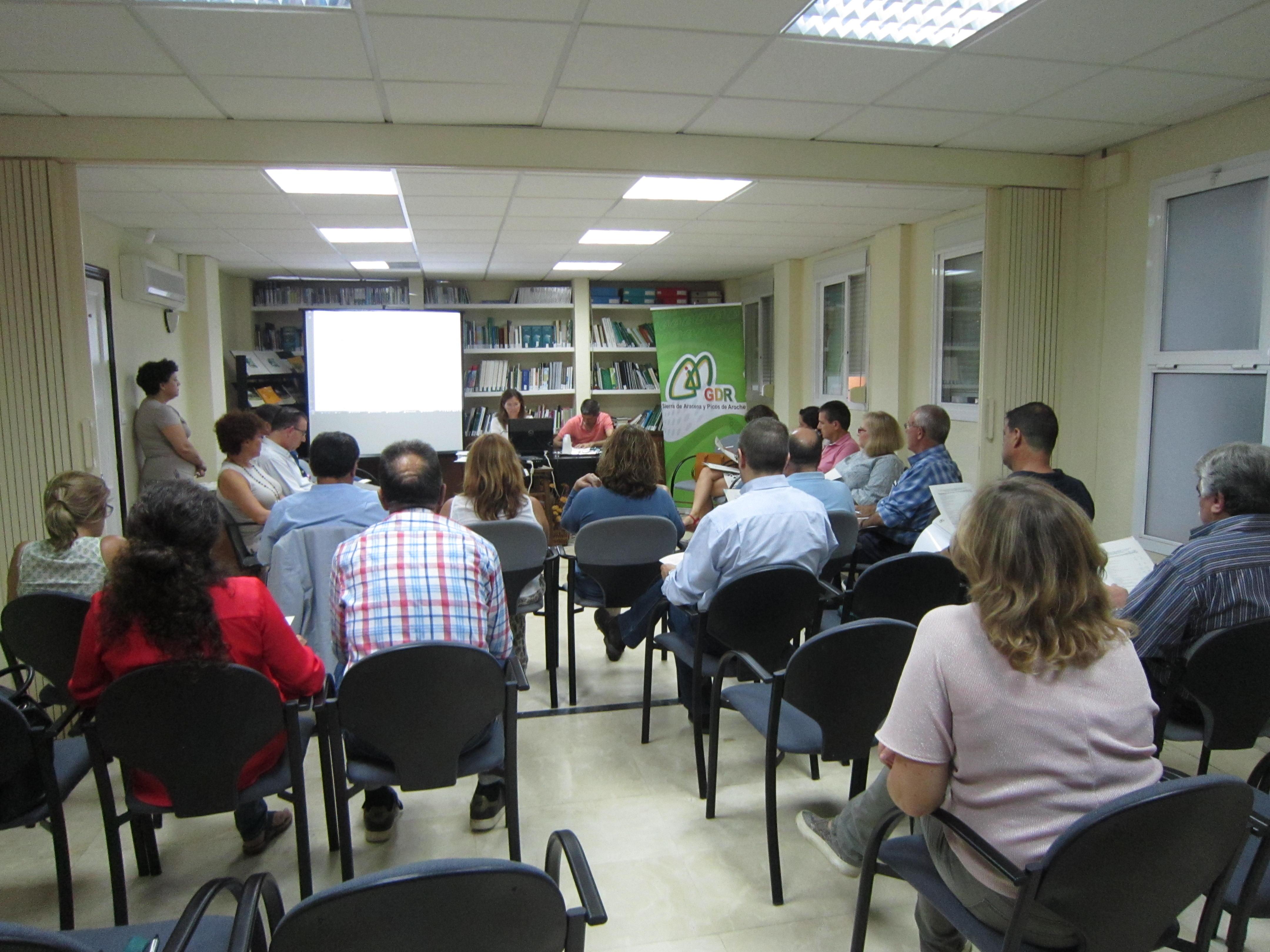 El Grupo de Desarrollo Rural Sierra de Aracena y Picos de Aroche anima a que más empresas y entidades de la comarca se comprometan con su comarca